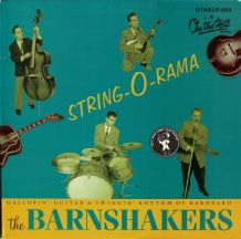 The Barnshakers (Finland Import) - String-o-rama - Neo-Rockabilly 1997 EX/EX